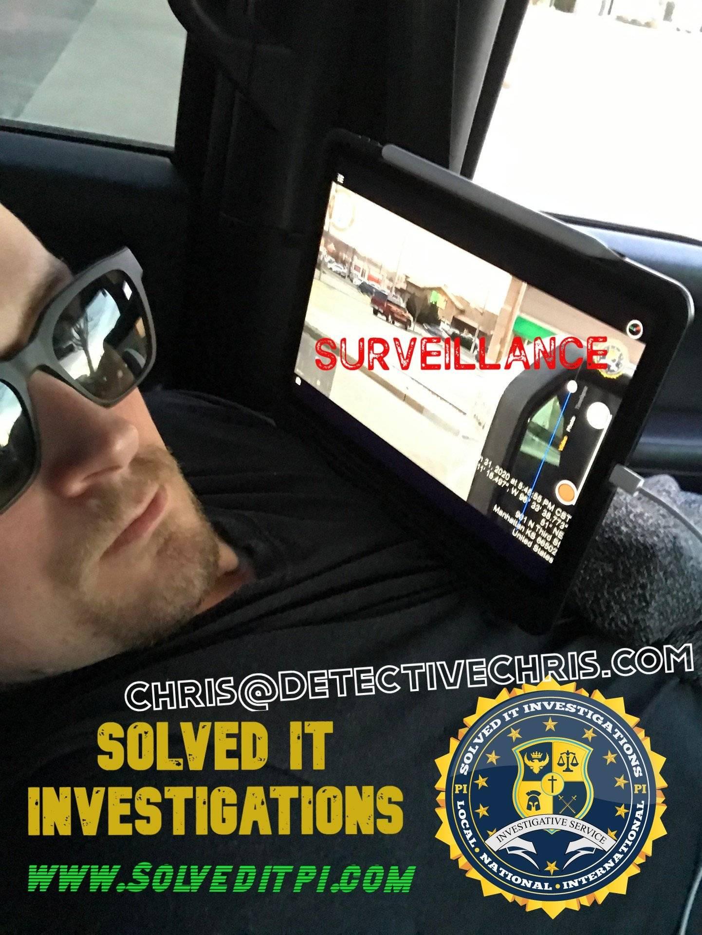 best private investigator detective chris